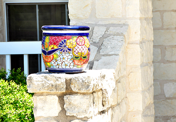 Hispanic Themed Products at The Home Depot Talavera Pot