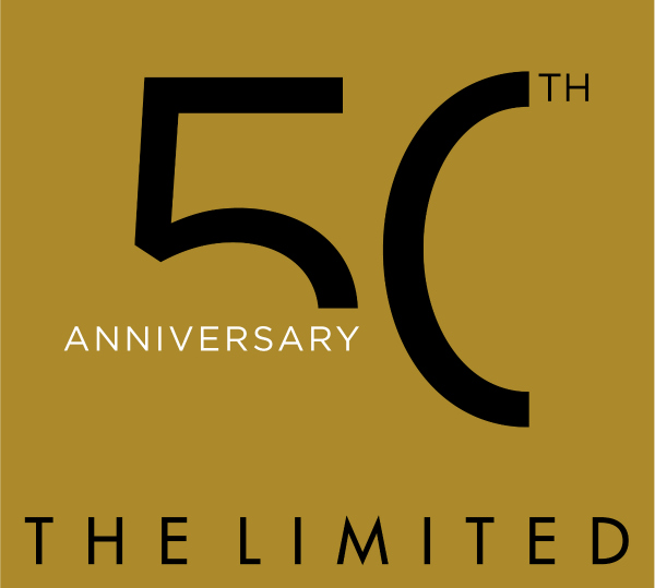 Limited 50th Annv Logo The Limited 50th Celebration