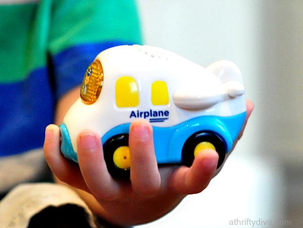 Vtech Go Go Smart Wheels Airport Playset airplane