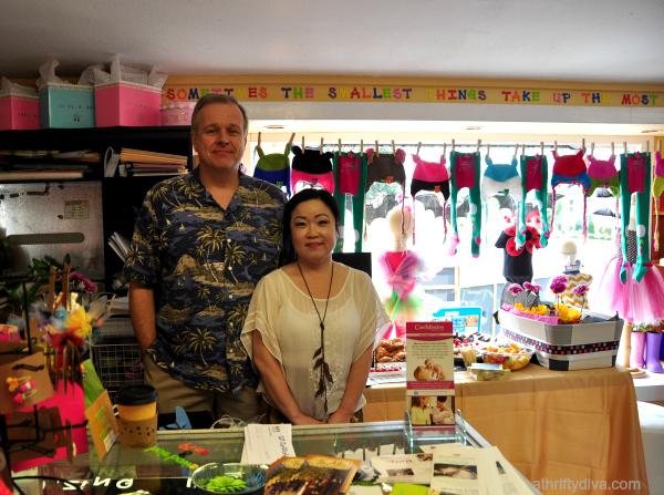 PB & J Kids Boutique Arrives in San Antonio owners Mr and Mrs Adams