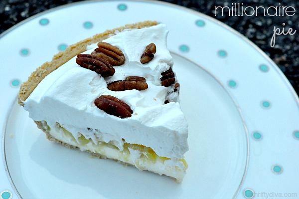 The perfect cold box pie. Millionaire Pie Recipe