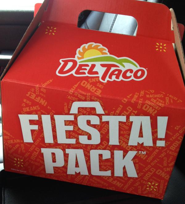 San Antonio Del Taco fiesta pack