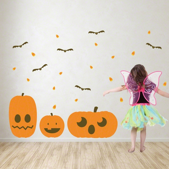 Halloween Decorating Decals with WallCandy Arts