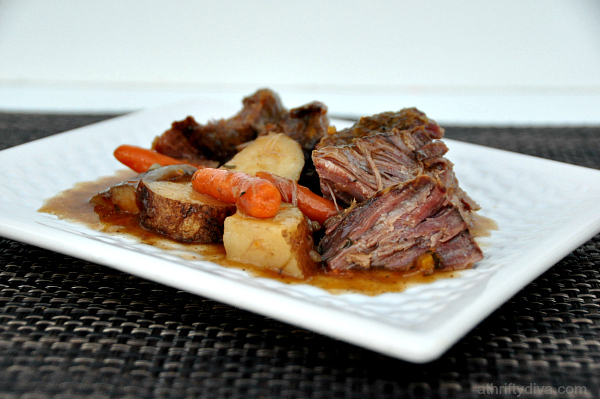 New England Pot Roast Meal Recipe #shop #cbias #kraftrecipemakers
