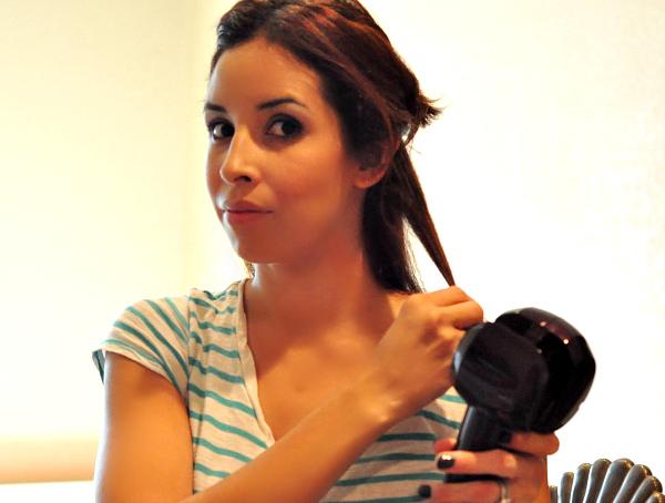 How To Curl Hair Using Curl Secret #ConairCurl #shop #cbias step 1
