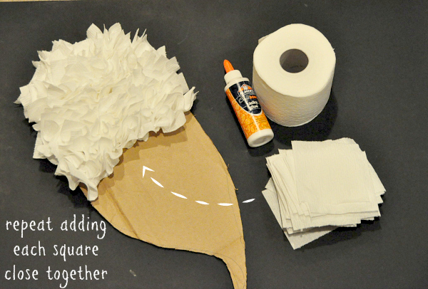 Budget Friendly DIY Angel Wings Costume #CottonelleTarget #PMedia #ad step 5