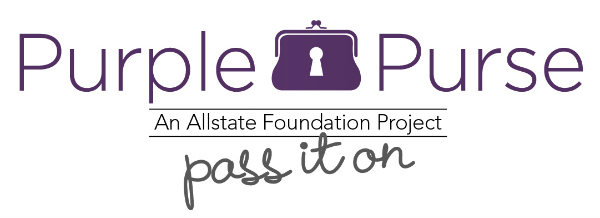 Allstate Domestic Violence Purple Purse #PurplePurse