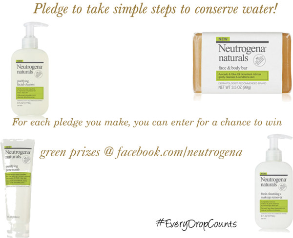Win an Eco Beauty Prize Pack from Neutrogena #EveryDropCounts