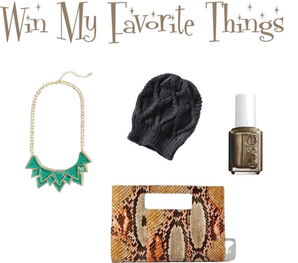 Win My fave things