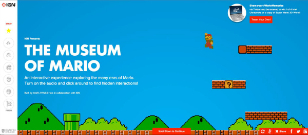 The Museum of Mario: Share Your Memories & Win!