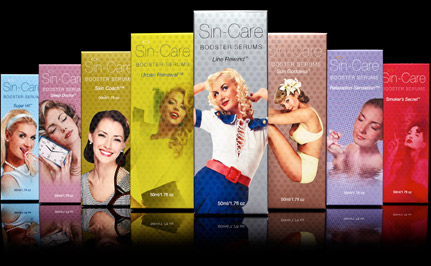 Sin-Care Booster Serums Party Girl, Sleep Doctor, Sun Goddess