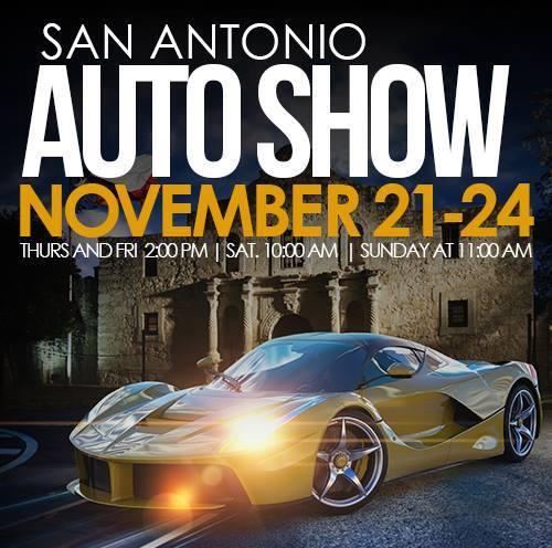 45th Annual San Antonio Auto & Truck Show November 21-24 #SAAS13