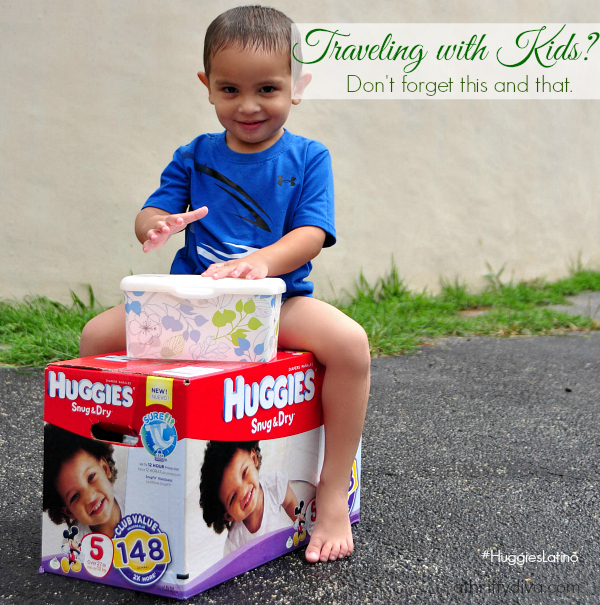 Traveling With Kids: Holiday Edition #HuggiesLatino