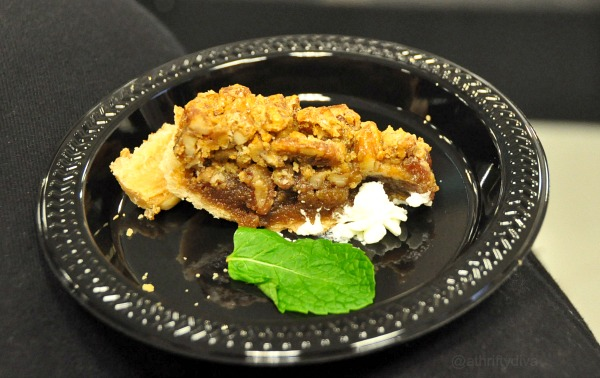 Macy's Culinary Council Dishes with Chef Cat Cora white chocolate pecan pie