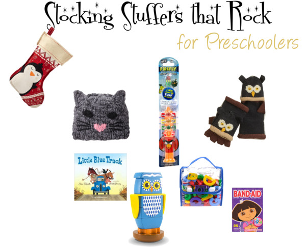 Stocking Stuffers That Rock for Preschoolers