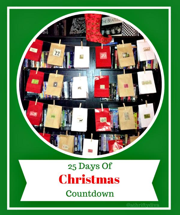 Christmas Countdown Treat Bags