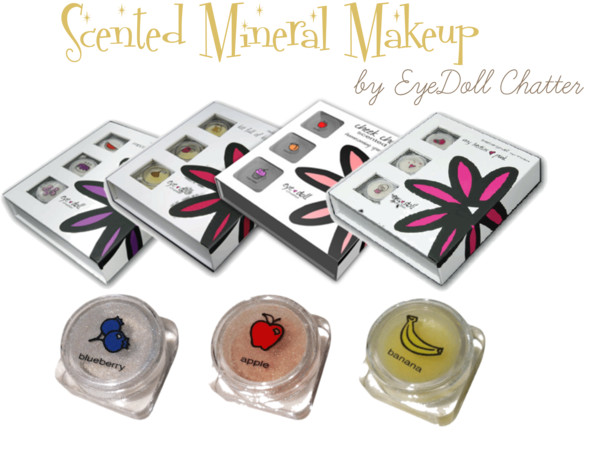 Scented Mineral Makeup for Tweens EyeDoll Chatter