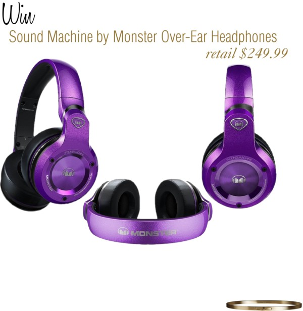Win Sound Machine Monster Over-Ear Headphones (value $249.99) #AsiFestejoYo