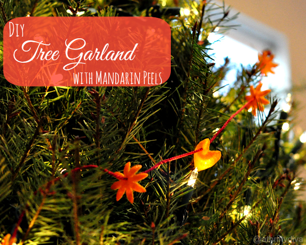 DIY Halos Mandarin Ornaments and Garland Decorations #HalosFun