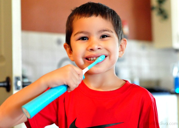 Healthy Dental Routine with Sonicare For Kids Toothbrush