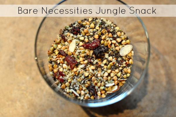Jungle Snack Recipe Inspired by The Jungle Book  #LoMasVital #BareNecessities