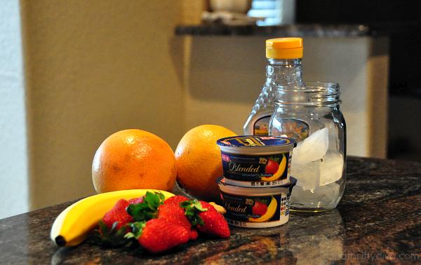 Rio Star Grapefruit Sunriser Smoothie Fresh Fruit Recipe