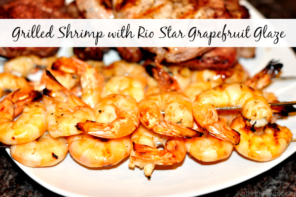 Grilled Shrimp with Rio Star Grapefruit Glaze Recipe