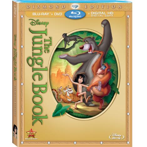 Jungle Book DVD Image Jungle Snack Recipe Inspired by The Jungle Book  #LoMasVital #BareNecessities