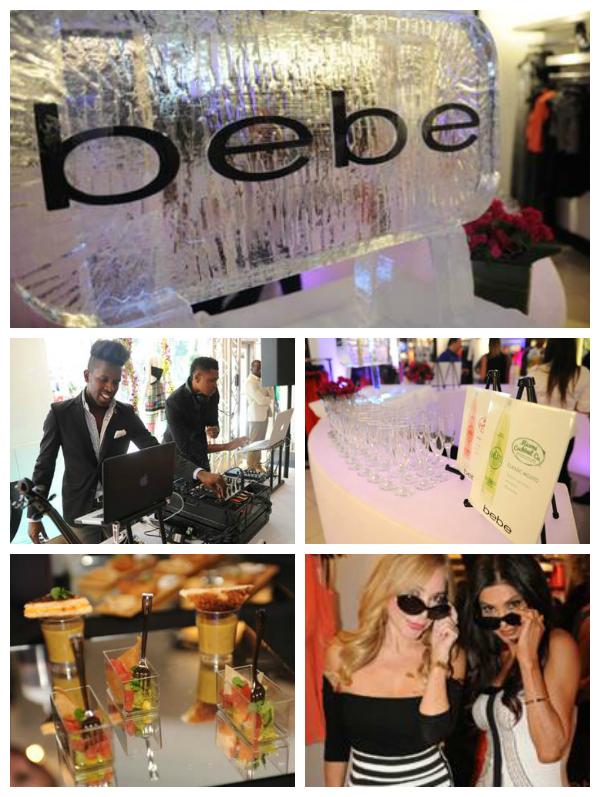 bebe Sunglasses Launch with Nina Agdal