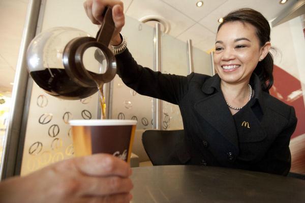 FREE McDonald's McCafe Coffee for breakfast through April 13th #SASmilesForCoffee
