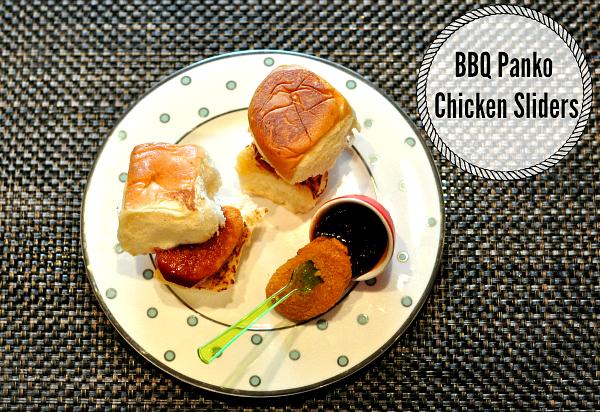 AD Kid Friendly Meals BBQ Panko Chicken Sliders - #SummerSauce #mycolectiva #cbias