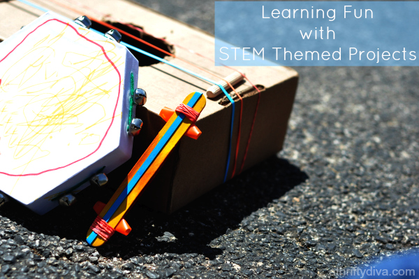 Learning Fun with STEM Themed Projects 4-8 yrs Appleseed Lane