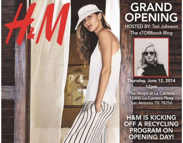 H&M San Antonio Grand Opening at La Cantera