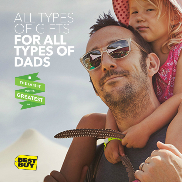 Top Father's Day Gifts for Dad at Best Buy #GreatestDad