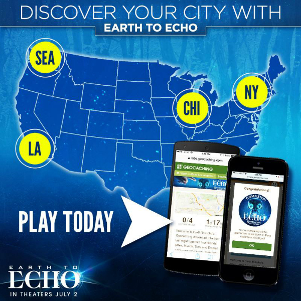 ETE Geocache Earth To Echo Review #EarthToEcho
