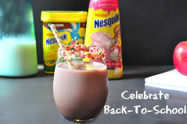celebrate nesquick back to school