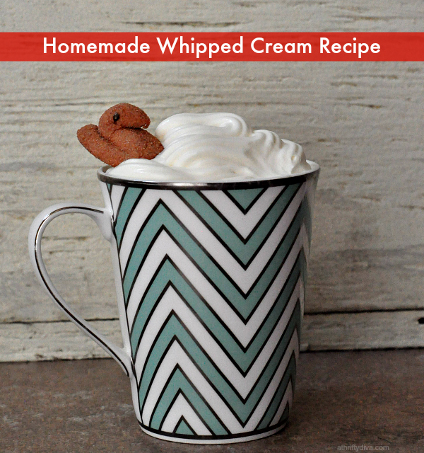 homemade whipped cream recipe 2