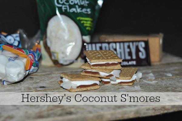 hersheys coconut smores