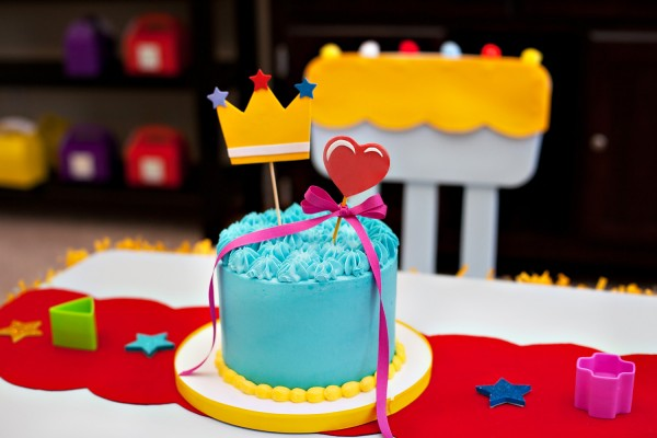 Fisher-Price® smash cake  First Birthday Party Tips: Hostess With The Mostess