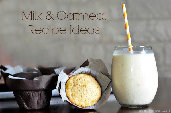 milkPEP  oatmeal recipe ideas
