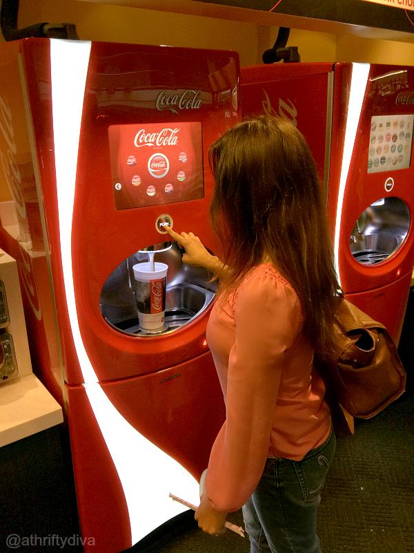 AMC Theatres Coca-Cola freestyle soda  #AMCandCocaColaFreestyle