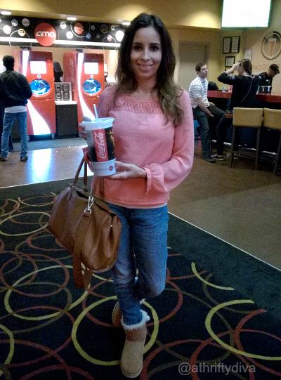 Family day with AMC Theatres Coca-Cola  #AMCandCocaColaFreestyle