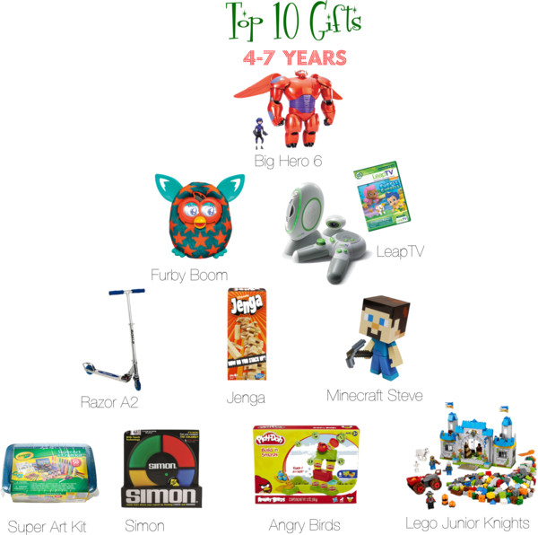 Top 10 gifts for boys 4-7 years old #LetsPlay #GiftGuide