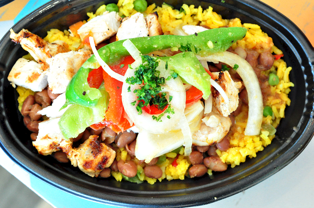 pollo tropical chicken beans rice