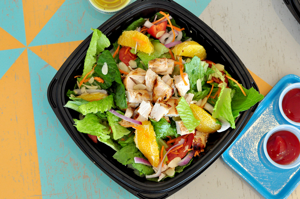 pollo tropical salad
