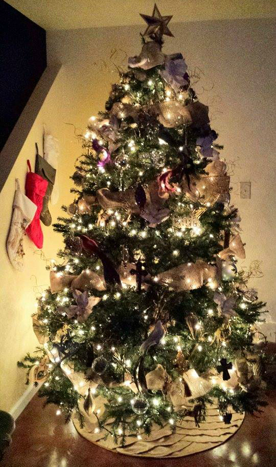 diy book poinsettias handmade Christmas tree ornaments