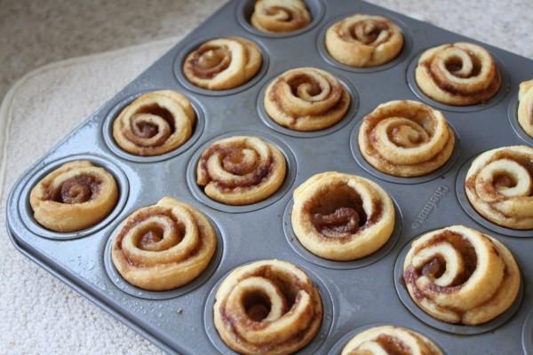 bite size cinnamon rolls