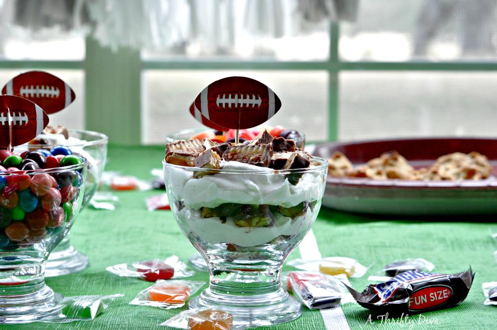 dessert table mini trifles