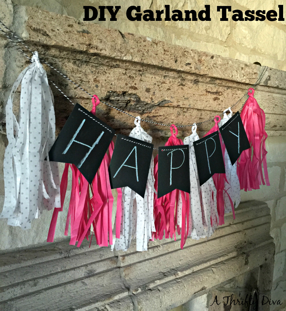 diy garland tassel steps