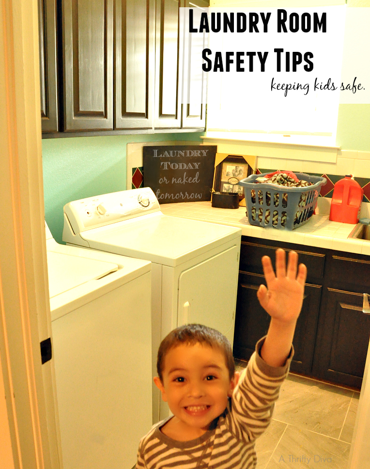 tide laundry room safety tips to keep kids safe